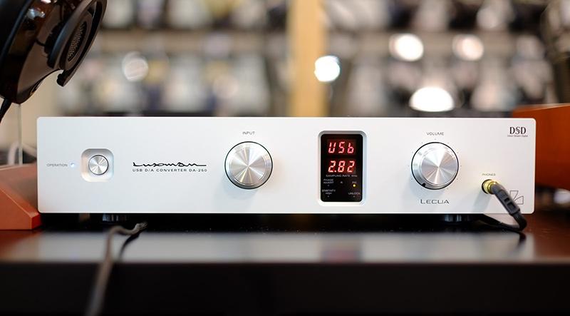 Bộ giải mã DAC Luxman: Âm thanh đỉnh cao