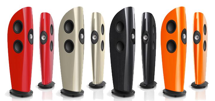 Dòng loa KEF Blade: Thanh đao đáng mơ ước của những audiophile