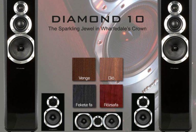 Dòng loa Wharfedale Diamond 10 – âm thanh chi tiết trong từng mẫu sản phẩm