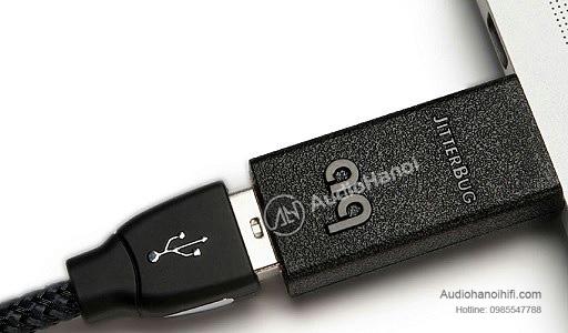 AudioQuest USB lọc nhiễu JitterBug chat