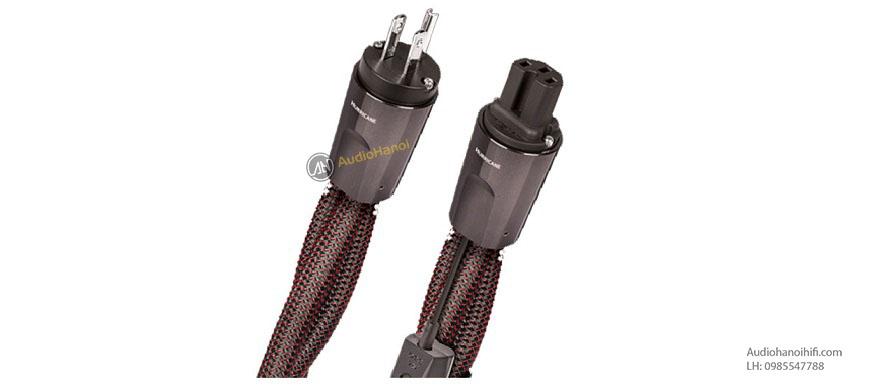 Nguồn điện được đảm bảo với dây nguồn AudioQuest Hurricane High Current