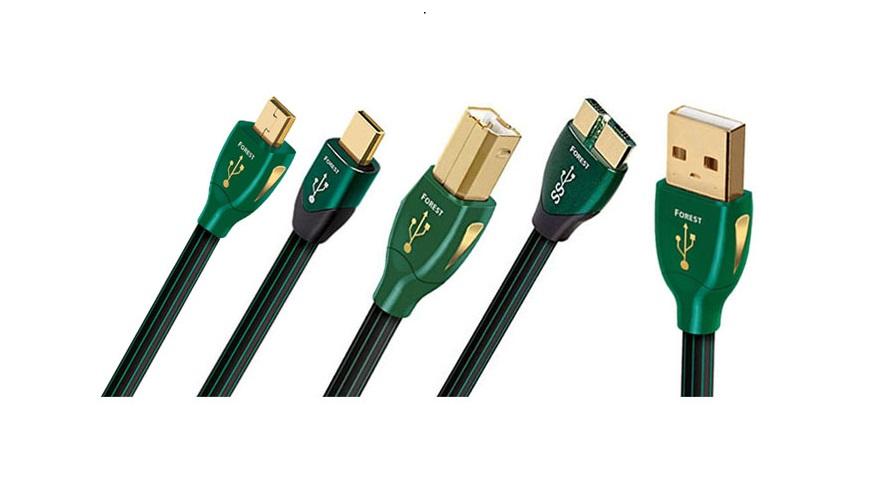 Dây tín hiệu USB AudioQuest Forest- Chất lượng hay trong tầm giá
