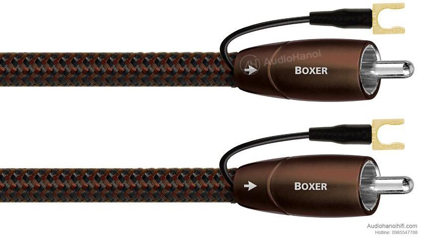 Dây tín hiệu AudioQuest Boxer chuyên dành cho loa subwoofer