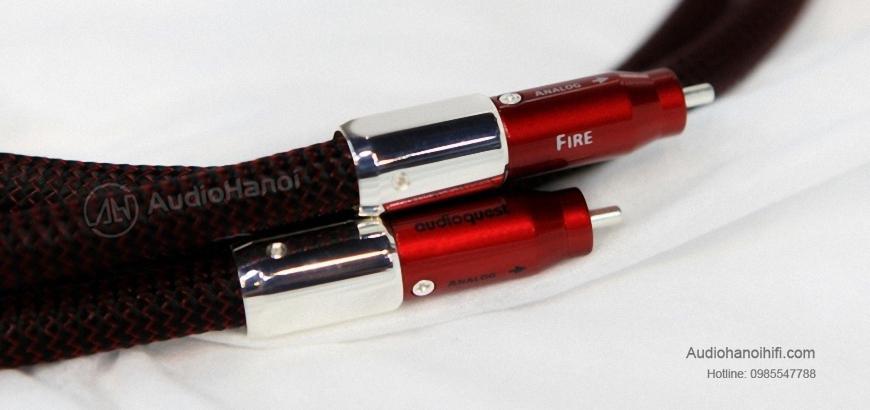 Dây tín hiệu AudioQuest Fire Elements lấy cảm hứng từ lửa