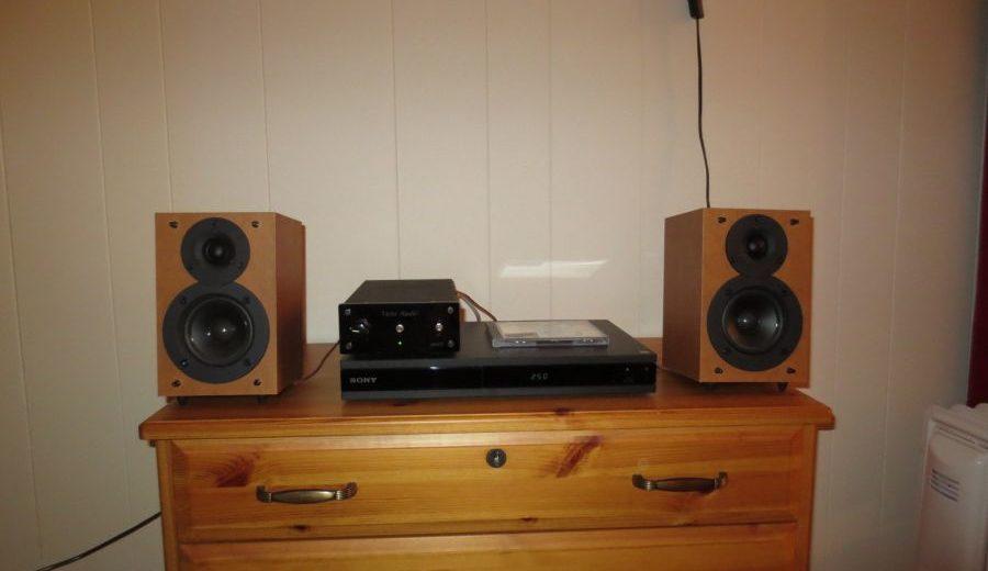 Thiết kế nhỏ gọn đến từ mẫu ampli Vista Audio Spark