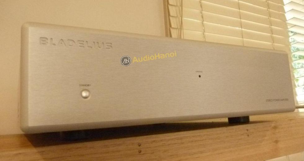 Bladelius giới thiệu tới giới audiophile power ampli Bladelius Balder Mk.II