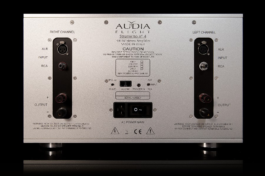 stereo power ampli Audia Flight Strumento n°4 MK2 mat sau