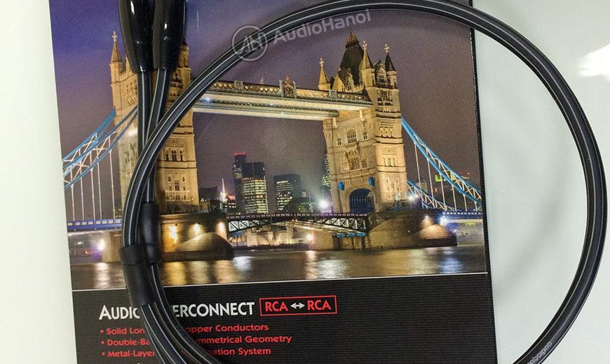 Dây tín hiệu AudioQuest Tower đến từ thương hiệu AudioQuest của Mỹ