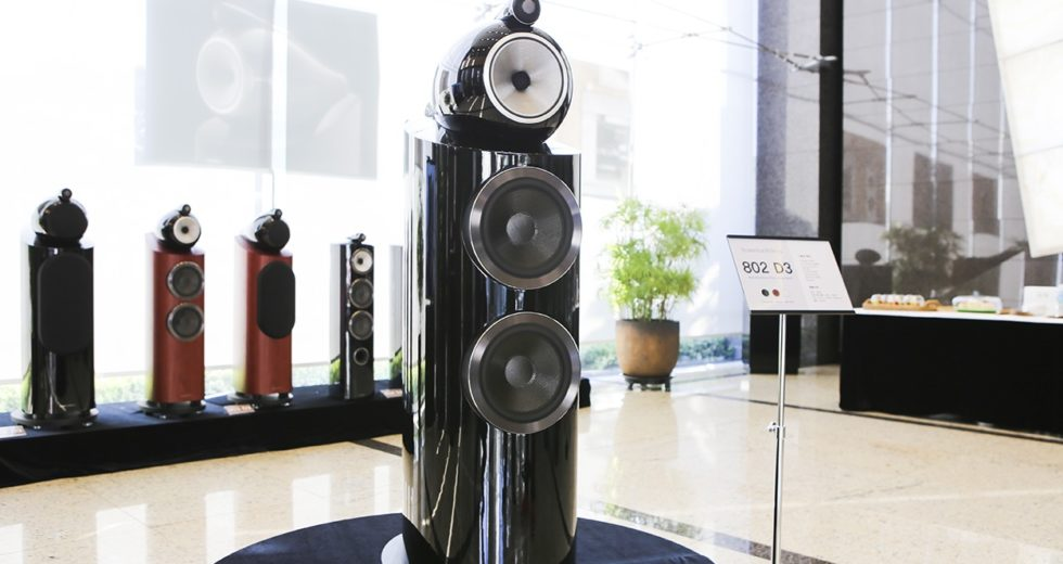 Trải nghiệm chất âm chuẩn studio đến từ mẫu loa B&W 802 D3