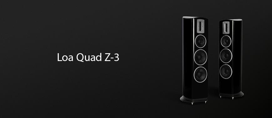 Mẫu loa đứng Quad Z-3 đến từ thương hiệu Quad Anh Quốc