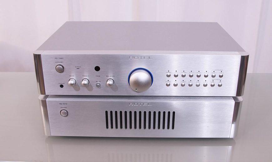 Pre ampli Rotel RC-1580MKII dễ phối ghép, xứng đáng lựa chọn trong tầm giá