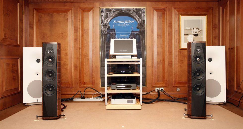 Đôi loa Sonus Faber Olympica III có chất âm nội lực của thương hiệu âm thanh Ý