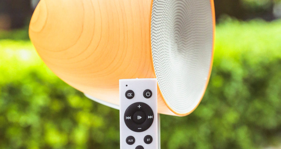 Mẫu loa bluetooth TIC Parasol đa năng đến từ TIC Audio