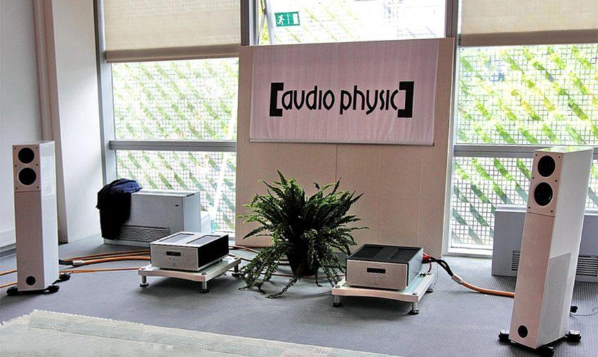 Loa hiend có thiết kế cực ấn tượng: Loa Audio Physic Avanti