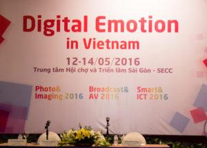 Triển lãm Digital Emotions Việt Nam 2016