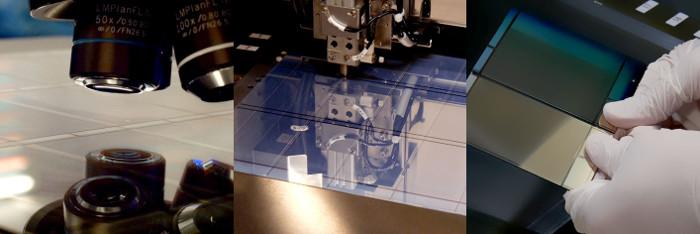 Quá trình tạo ra màn hình quang điện
