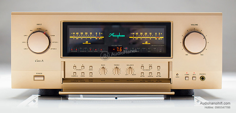 Trải nghiệm ampli Accuphase E-600