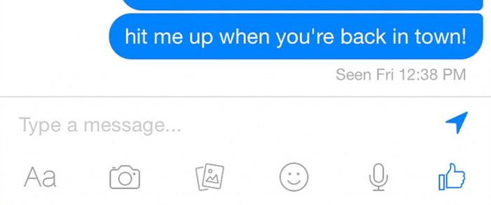 """Ẩn thông báo """"đã xem"""" trên tin nhắn Facebook Messenger"""