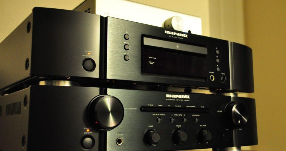 Dòng ampli nghe nhạc Marantz – Xử lý tín hiệu nhanh chóng, chính xác