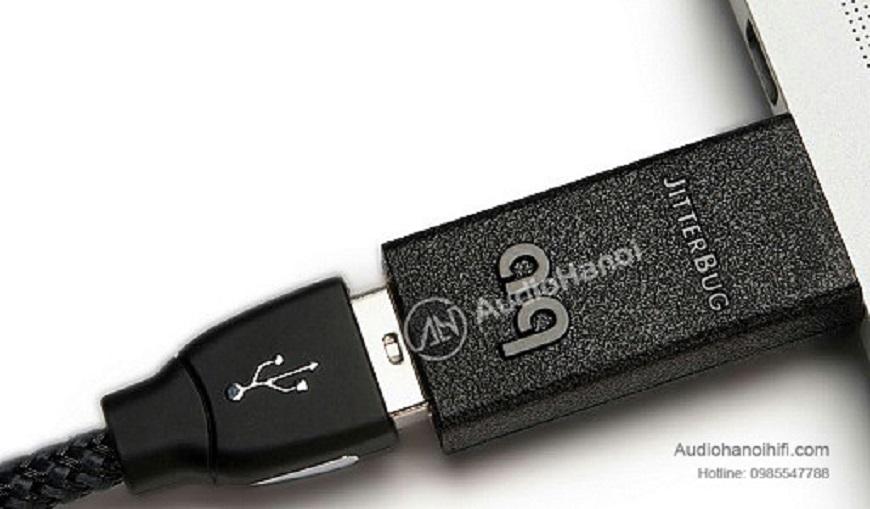 USB lọc nhiễu AudioQuest JitterBug phụ kiện nhỏ nhưng đầy uy lực