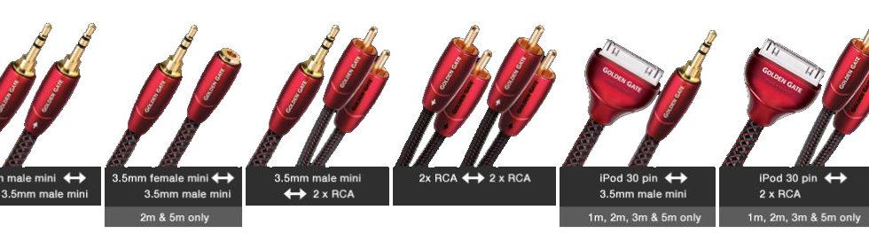 Nâng cấp hệ thống âm thanh với dây tín hiệu AudioQuest Golden Gate
