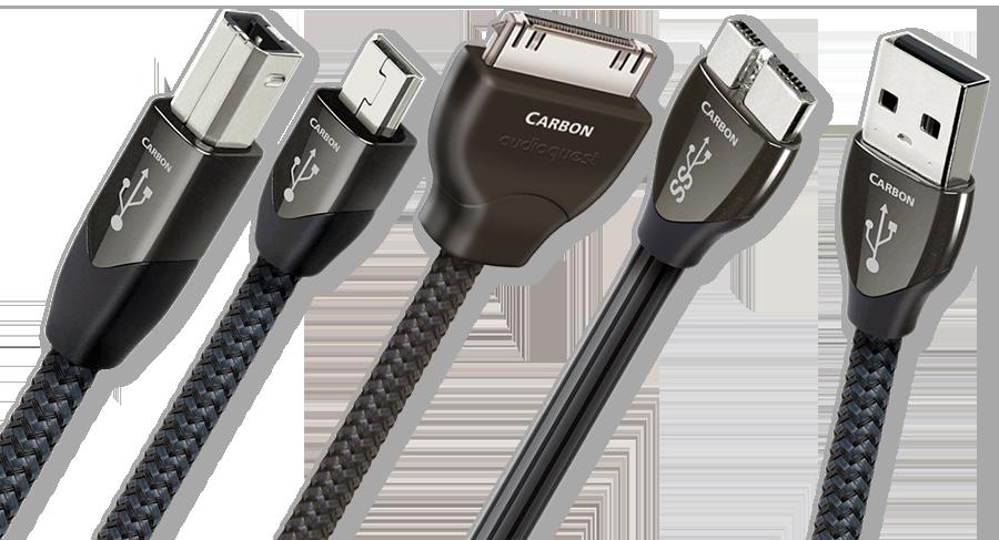 Dây tín hiệu USB AudioQuest Carbon chất âm vượt xa tầm giá