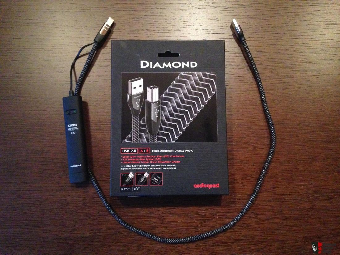 Day tin hieu USB AudioQuest Diamond chat