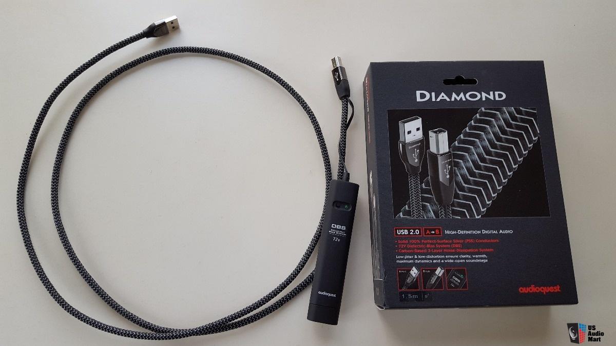 Day tin hieu USB AudioQuest Diamond tot