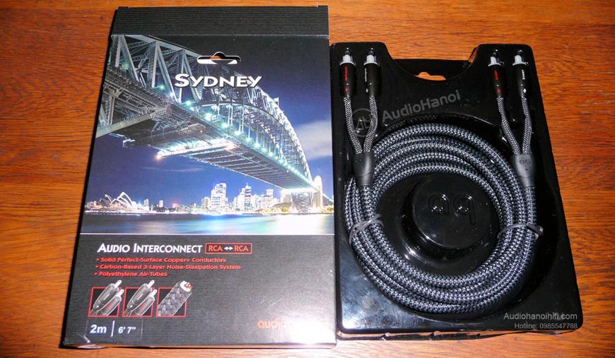Dây tín hiệu AudioQuest Sydney chinh phục người chơi khó tính