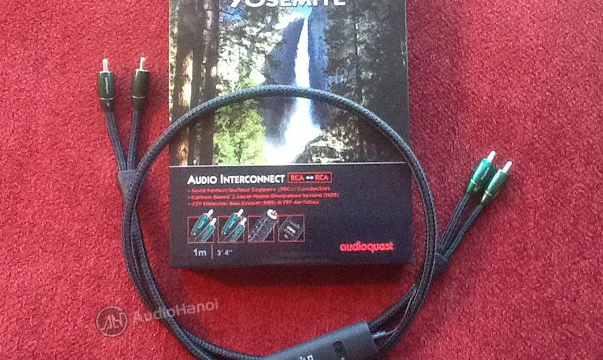 Dây tín hiệu AudioQuest Yosemite lấy cảm hứng từ thác nước