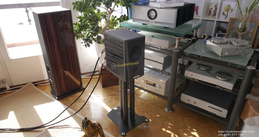 Loa AudioSolutions Overture O202B mẫu loa bookshelf nhỏ gọn, tiện ích