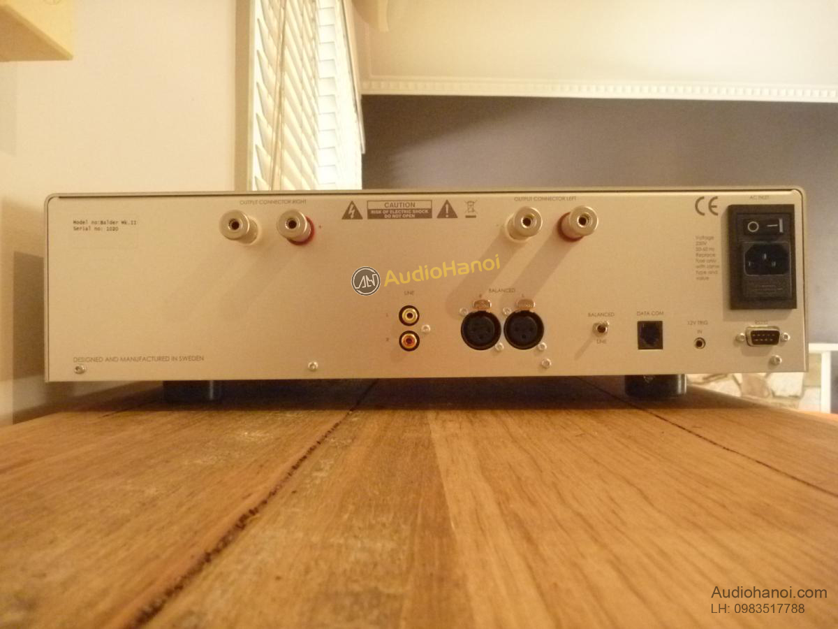 power ampli Bladelius Balder Mk.II mat sau