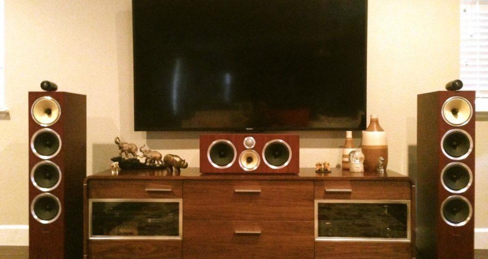 Mẫu loa B&W CM Center 2 S2 dành cho hệ thống xem phim tại gia