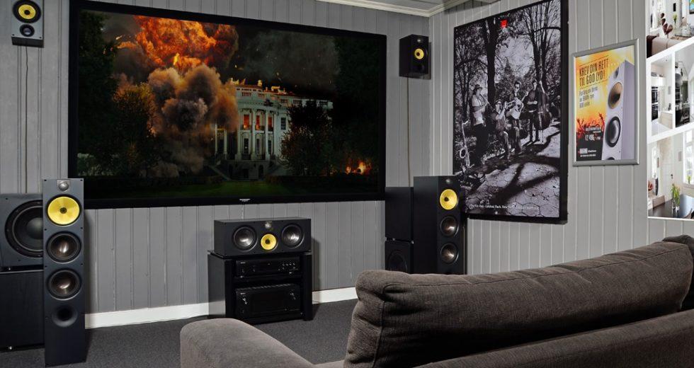 Mẫu loa center B&W HTM61 S2 lý tưởng cho hệ thống âm thanh đa kênh