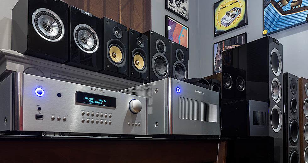 Power ampli Rotel RB-1590 hai kênh chuyên dụng nghe nhạc