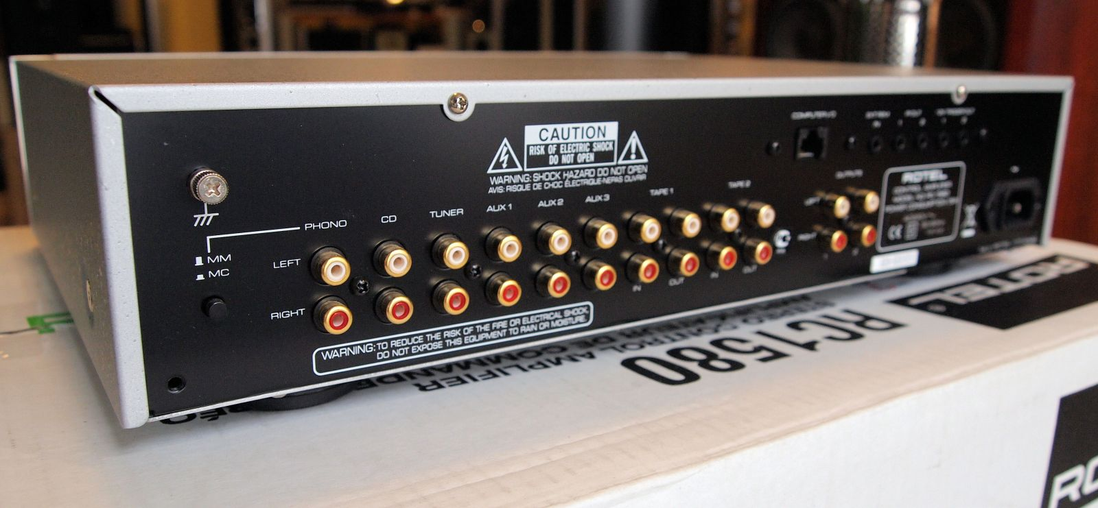 pre ampli Rotel RC-1580MKII mat sau