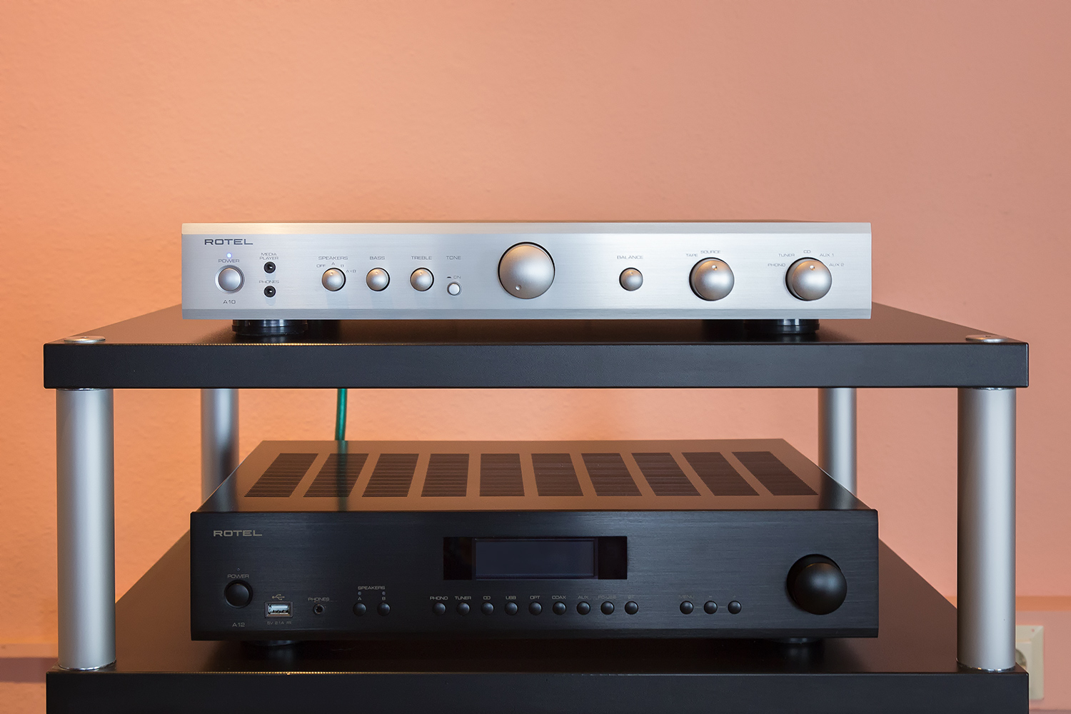 ampli Rotel A 10 chat