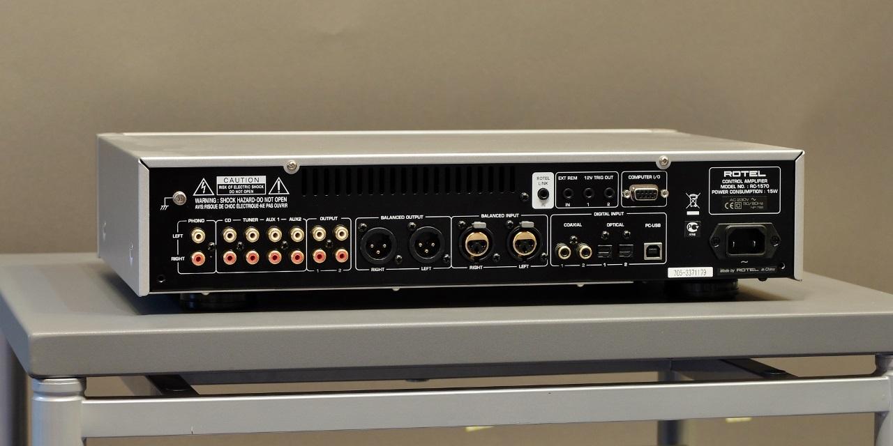 pre ampli Rotel RC-1570 mat sau