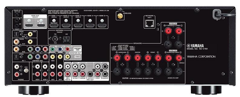 Ampli Yamaha RX-V781 mat sau