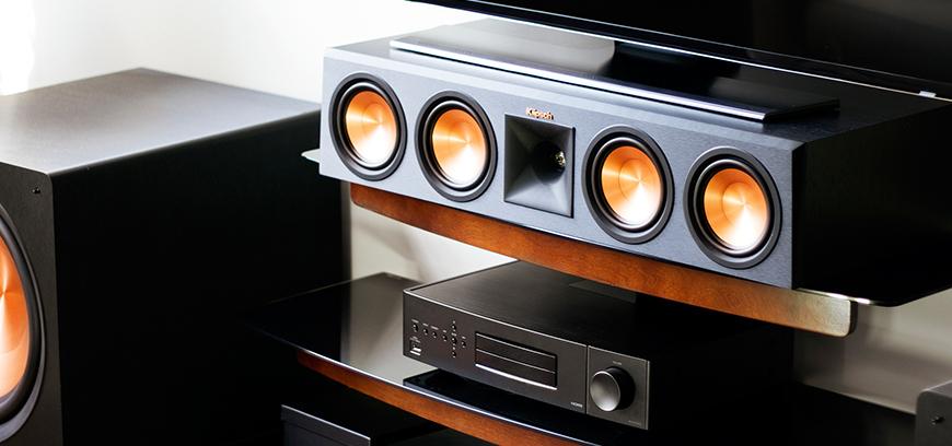 Loa Klipsch RP-450C mẫu loa center thông minh cho bộ dàn âm thanh