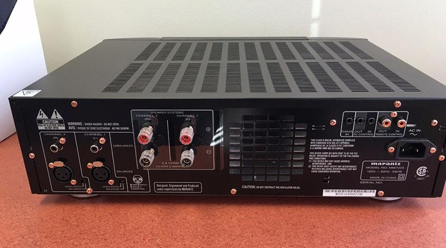 Power ampli Marantz MM7025 mat sau