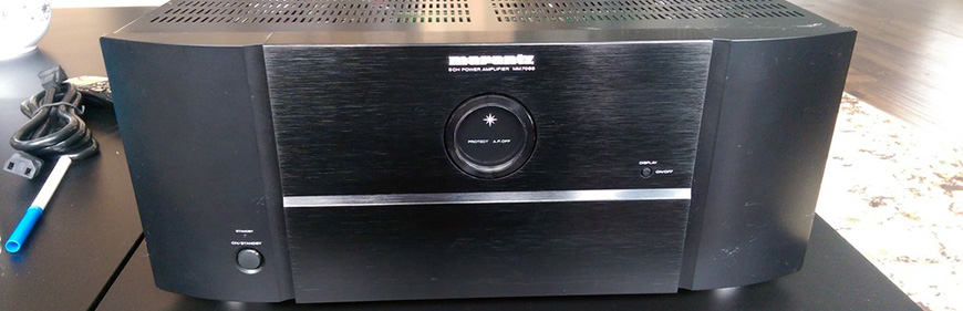 Power ampli Marantz MM7055 dep