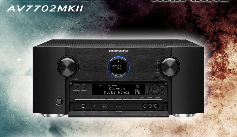 Trải nghiệm chất lượng khuếch đại âm thanh rõ nét đến từ pre ampli Marantz AV7702mkII