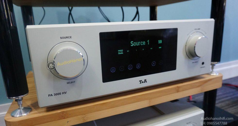 Ampli T+A PA 3000HV cho chất lượng âm thanh hàng đầu