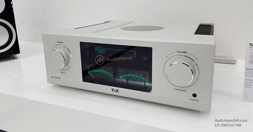Ampli T+A PA 3100HV hay hơn, tối ưu hơn