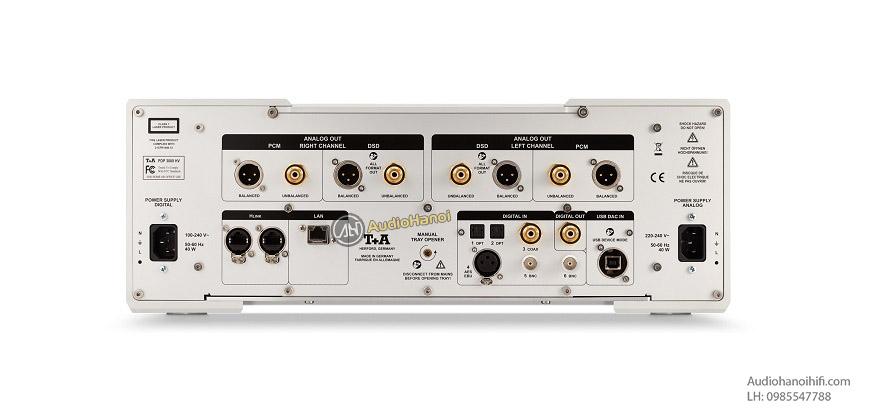 dau SACD/CD T+A PDP 3000 HV mat sau