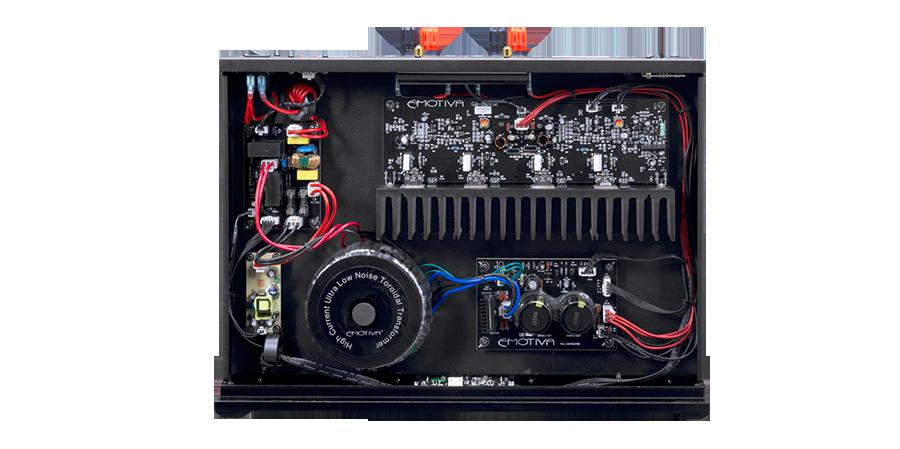 Power ampli Emotiva BasX A-150 tot