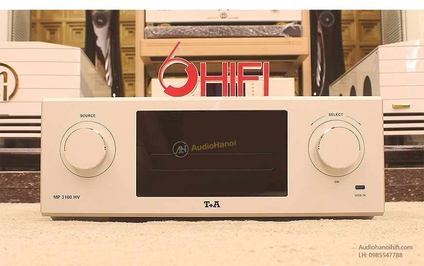 SACD Transport T+A MP 3100 HV
