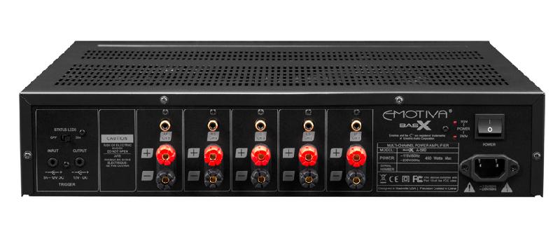 Power ampli Emotiva BasX A-500 dep