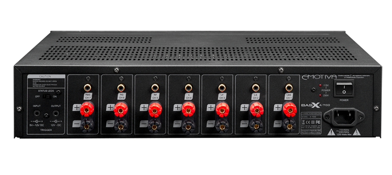 Power ampli Emotiva BasX A-700 dep
